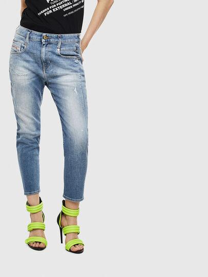 Diesel - Fayza 0099M, Mittelblau - Jeans - Image 1