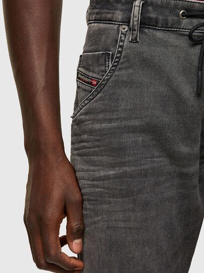 Diesel - Krooley JoggJeans® 069SY, Noir/Gris foncé - Jeans - Image 3