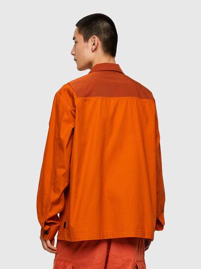 Diesel - S-GUNN-LS, Orange - Chemises - Image 2