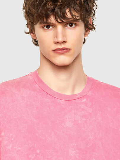 Diesel - T-JUST-E2, Rose - T-Shirts - Image 4