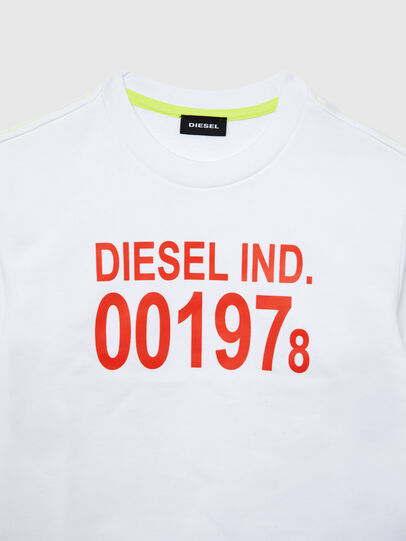 Diesel - SGIRKJ3 OVER, Weiß - Sweatshirts - Image 2