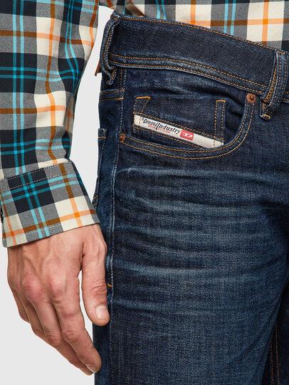Diesel - Sleenker 09A43, Blu Scuro - Jeans - Image 3