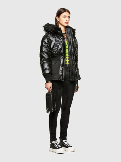 Diesel - W-ISOKE-SHINY, Black - Winter Jackets - Image 6