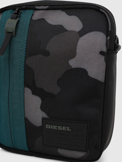 Diesel - ODERZO Z, Blau/Grau - Schultertaschen - Image 5
