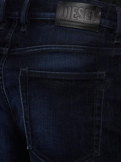 Diesel - D-Vider 009KU, Dunkelblau - Jeans - Image 4