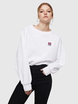 F-HENNY-E, Weiß - Sweatshirts