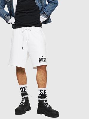 P-ALF-SHORT, Weiß - Kurze Hosen