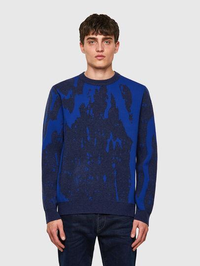 Diesel - K-TENNESSEE, Blue - Knitwear - Image 1