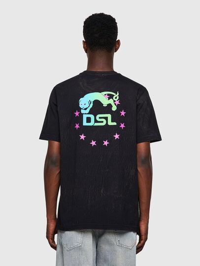 Diesel - T-JUST-E3, Schwarz - T-Shirts - Image 2