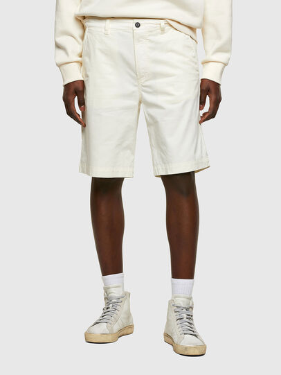 Diesel - P-HATY, Blanc - Shorts - Image 1