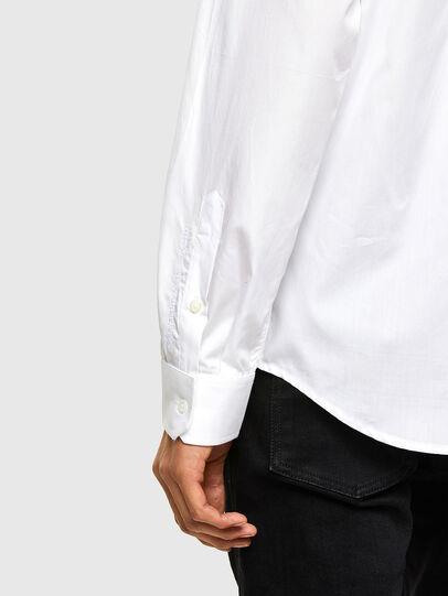 Diesel - S-WEIR, Blanc - Chemises - Image 4