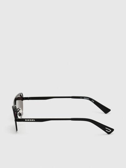 Diesel - DL0313, Black/Violet - Sunglasses - Image 3