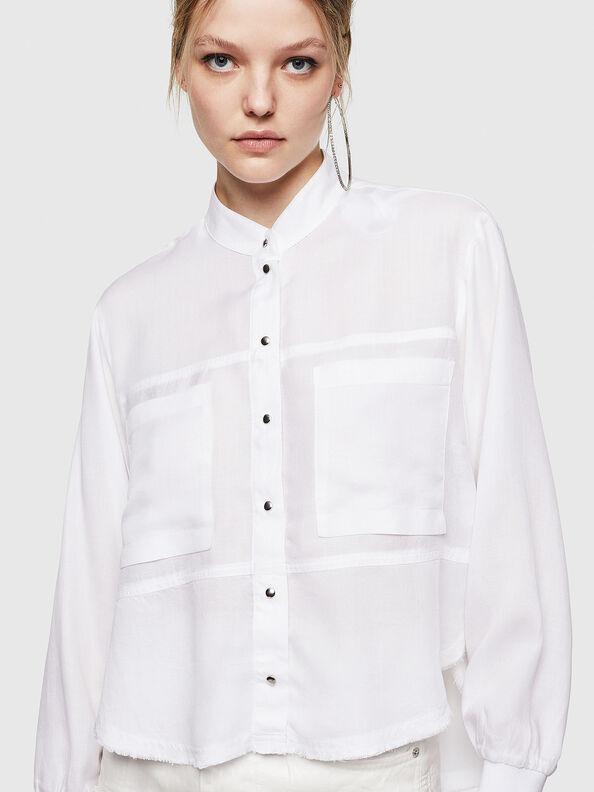 C-SUPER-E, Weiß - Hemden