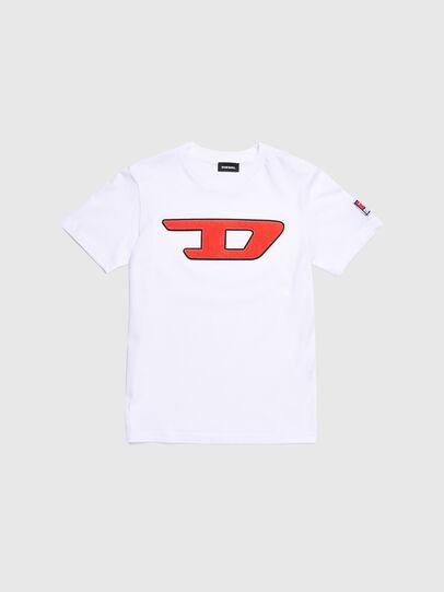 Diesel - TJUSTDIVISION-D, Weiß - T-Shirts und Tops - Image 1
