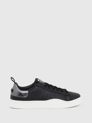 S-CLEVER LOW LACE, Schwarz/Silber - Sneakers