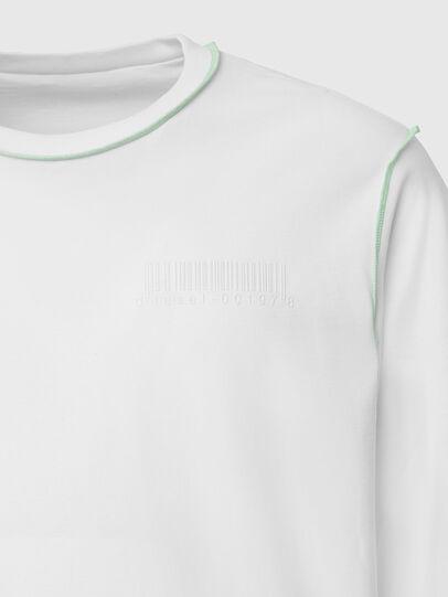 Diesel - T-JUSEAM-LS, Weiß - T-Shirts - Image 4