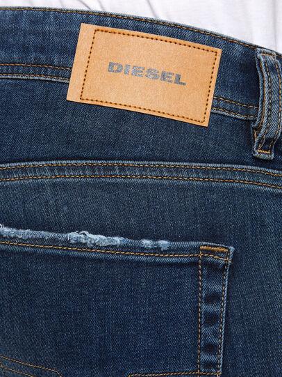 Diesel - Sleenker 009DK, Blu Scuro - Jeans - Image 4