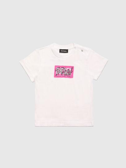 Diesel - TJUSTX62B, Blanc - T-shirts et Hauts - Image 1