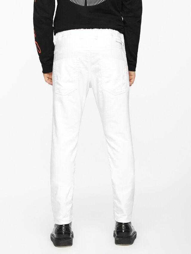 Diesel Krooley JoggJeans 0684U, Weiß - Jeans - Image 3