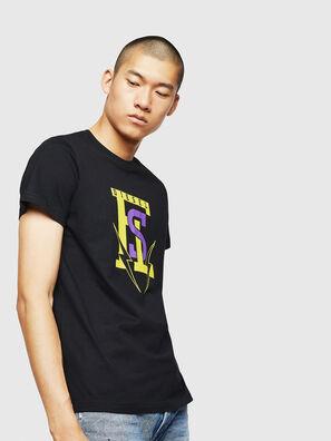 T-DIEGO-B3, Schwarz - T-Shirts
