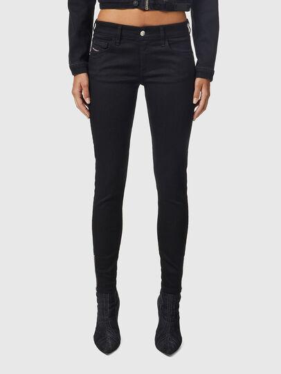 Diesel - Slandy Low 069EF, Black/Dark grey - Jeans - Image 1