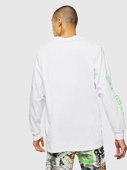 Diesel - T-GLYNIS-J1, Weiß - T-Shirts - Image 3