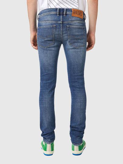 Diesel - Sleenker 09A86, Bleu Clair - Jeans - Image 2
