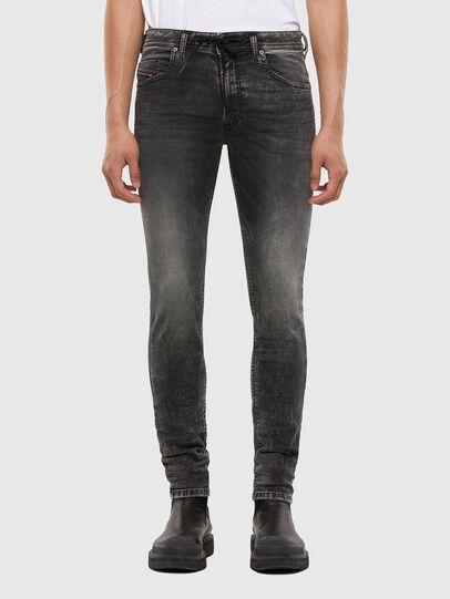 Diesel - Thommer JoggJeans® 009KC, Schwarz/Dunkelgrau - Jeans - Image 1