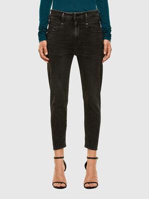 Fayza JoggJeans 009HM, Schwarz/Dunkelgrau - Jeans