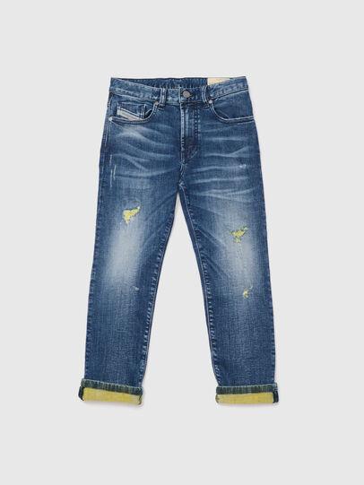 Diesel - MHARKY-J, Schwarz/Gelb - Jeans - Image 1