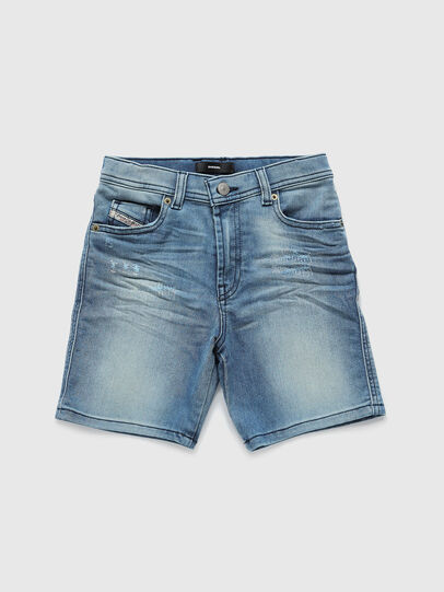Diesel - PWILLOH JOGGJEANS, Blu Chiaro - Shorts - Image 1