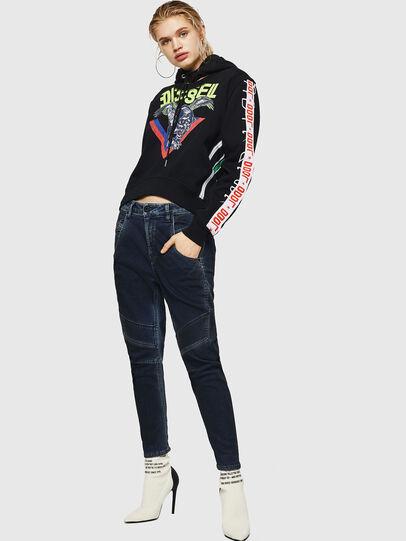 Diesel - Fayza JoggJeans 069HY, Dunkelblau - Jeans - Image 5