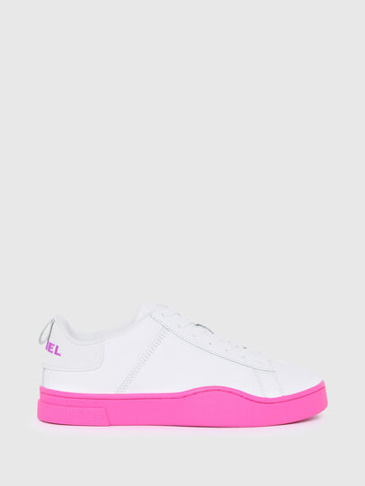 Diesel - S-CLEVER LOW LACE W, Blanc/Rose - Baskets - Image 1