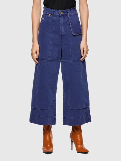 Diesel - D-Luite 0EEAX, Bleu moyen - Jeans - Image 1