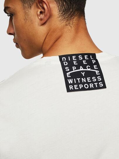 Diesel - T-DIEGO-J5, Weiß - T-Shirts - Image 8