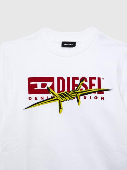 Diesel - SBAYBX5, Weiß - Sweatshirts - Image 3