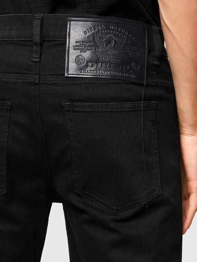Diesel - D-Istort 069TI, Nero/Grigio scuro - Jeans - Image 5