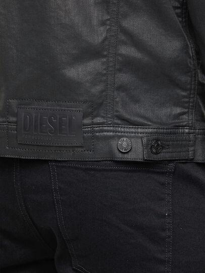 Diesel - NHILL-TW, Noir - Vestes en denim - Image 5
