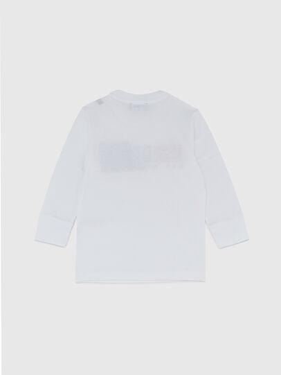 Diesel - TDIEGOCUTYB ML-R, Blanc - T-shirts et Hauts - Image 2