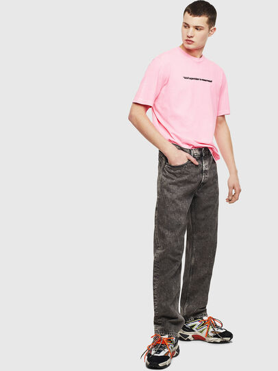 Diesel - T-JUST-NEON, Rosa - T-Shirts - Image 8