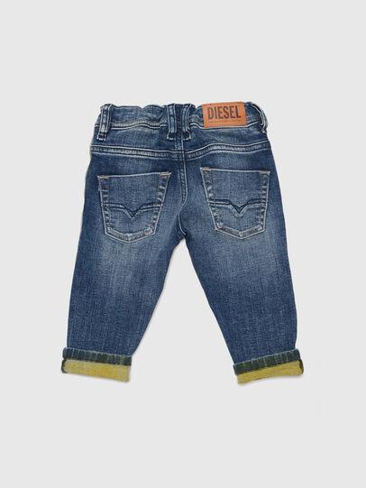 Diesel - KROOLEY JOGGJEANS-B-N, Blau/Gelb - Jeans - Image 2