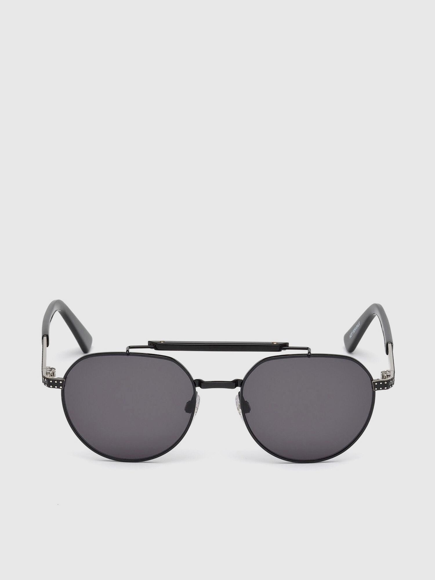 Diesel Sonnenbrille » DL0260«, schwarz, 02A - schwarz/grau