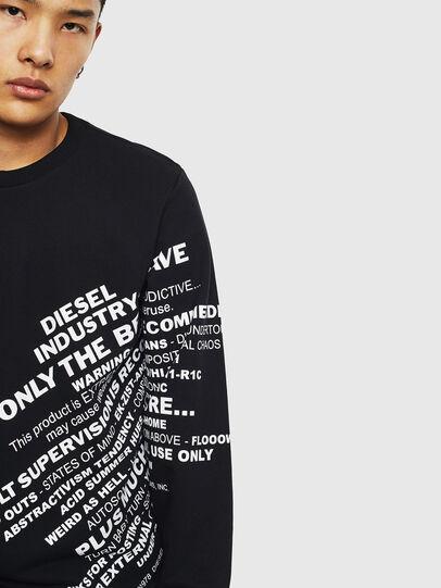 Diesel - S-GIRK-S1, Schwarz - Sweatshirts - Image 5