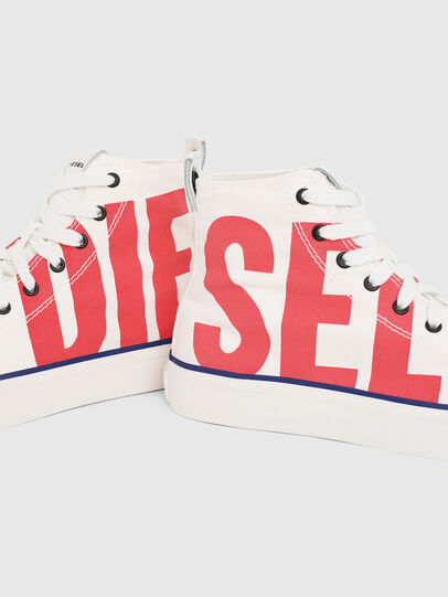 Diesel - S-ASTICO MC W, Weiß/Rot - Sneakers - Image 4