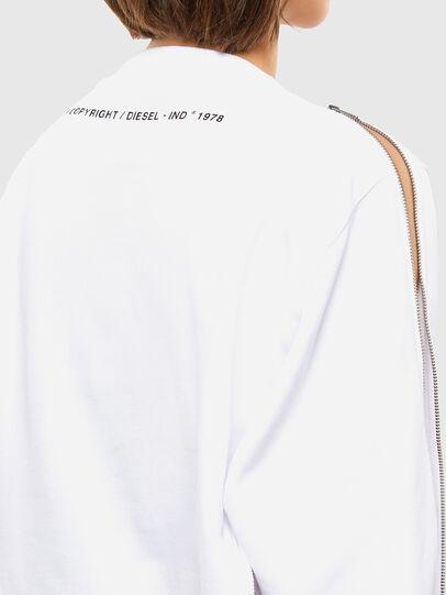 Diesel - F-ROSETTA, Weiß - Sweatshirts - Image 6