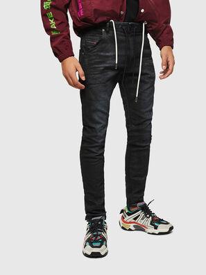 Krooley JoggJeans 069GP, Schwarz/Dunkelgrau - Jeans