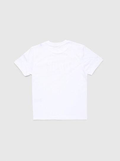 Diesel - TJUSTA9, Weiß - T-Shirts und Tops - Image 2
