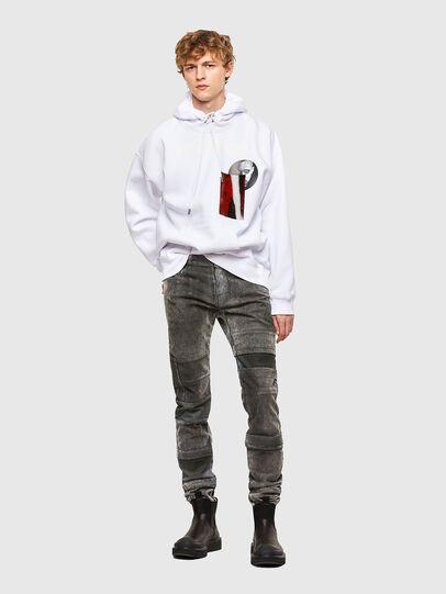 Diesel - S-HENON, Weiß - Sweatshirts - Image 5