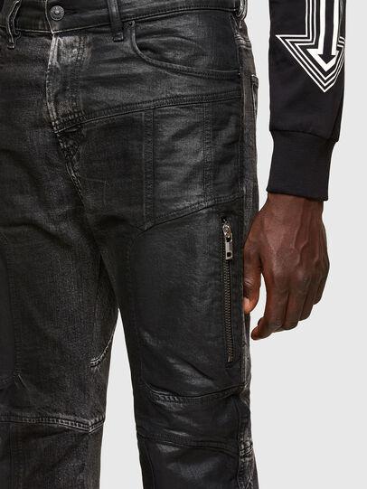 Diesel - D-Vider 009QZ, Noir/Gris foncé - Jeans - Image 3