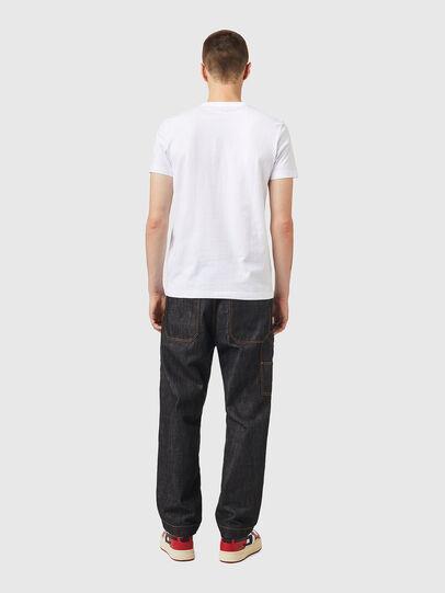 Diesel - T-DIEGOS-K26, Blanc/Rouge - T-Shirts - Image 5